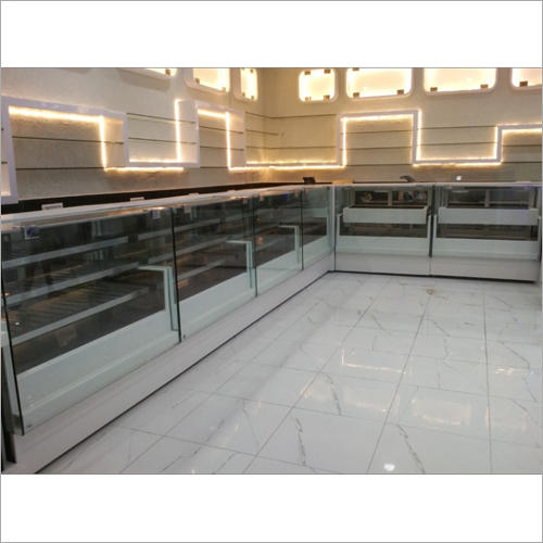 Refrigerated Display L Shaped Counter