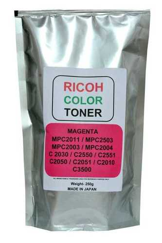 Ricoh Color Toner Cymk