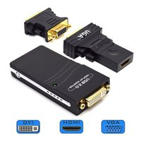 USB to DVI VGA HDMI Converter