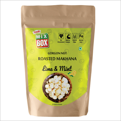 Roasted Makhana Lime Mint Flavour-Family Pack