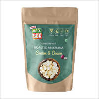Roasted Makhana Cream & Onion flavour-Family Pack