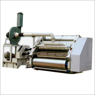 Fingerless Type Single Facer Corrugator Machine