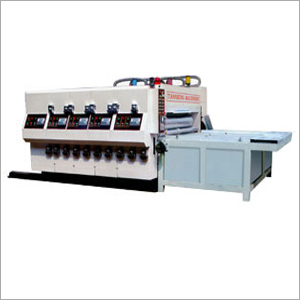 Four Color Printing Rotary Die Cutting Machine