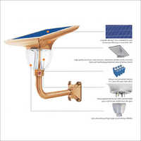 Lotus Gate Garden Solar Light 7w (FBG 700)