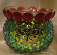 Decorate Beautiful Glass Candle Holders