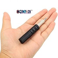 Okaeya-Hands-Free Bluetooth Car Aux Kit With Audio Music Adapter Receiver And 3.5 Mm Jack For Speaker (Multicolored)