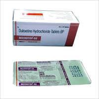 Hydrochloride Duloxetine  BP Tablets