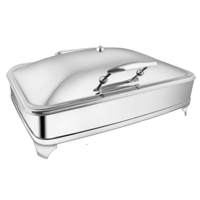 Rectangular SS SS Lid Chafer With EE & Frame