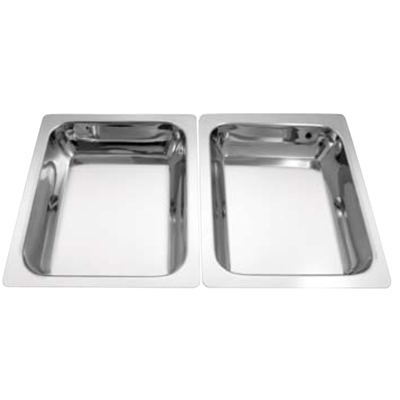 Stainless Steel Oblong Food Pan