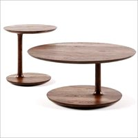 Wooden Designer Round Table