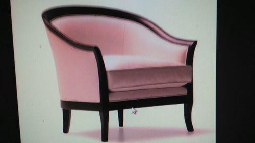 Pink Sofa Chair