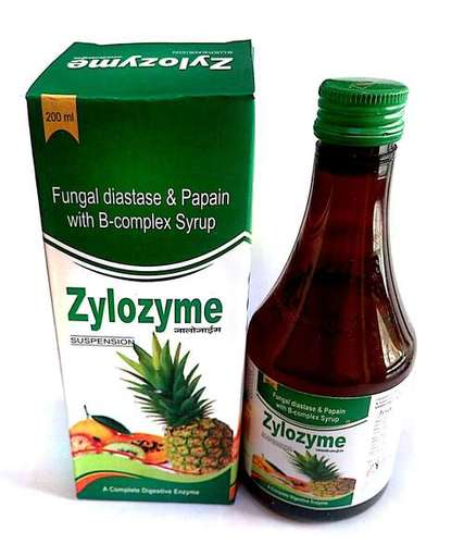 Fungal diastase papain with B- complex syrup
