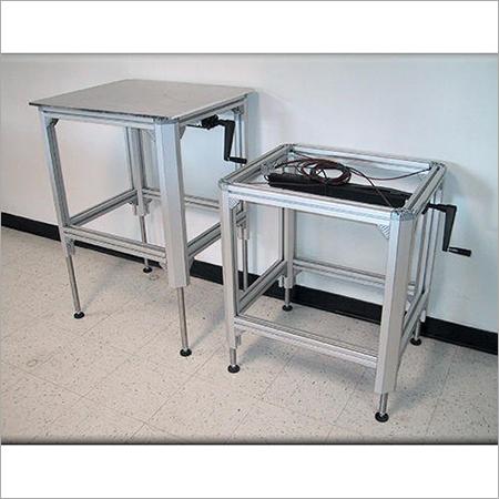 Packaging Aluminium Tables