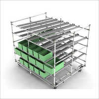 Warehouse FIFO Storage rack