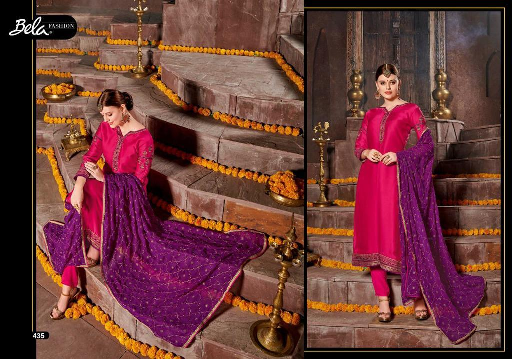 Satin Embroidery Work Suits