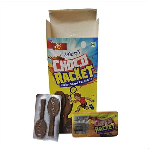 Racket Shape Chocolate