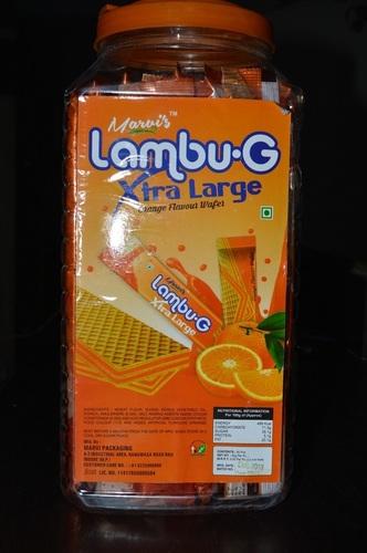Orange Flavour Wafer