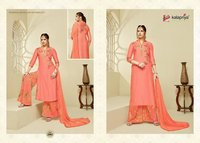 Ladies Fashion Silk Suit