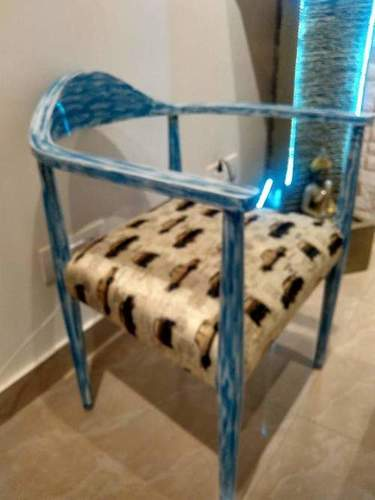 Antique Blue Chairs