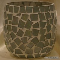 Handmade Mosaic Votive