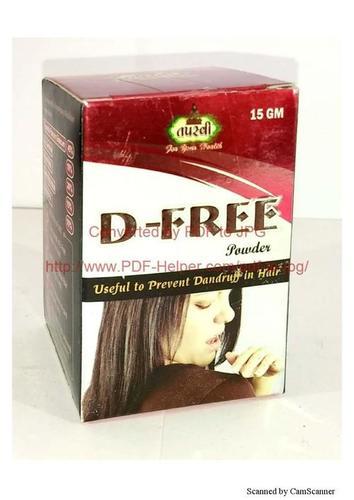 Anti Dandruff Powder