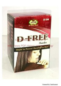 Anti Dandruff Powder