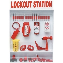 Extra-Large Lockout Station