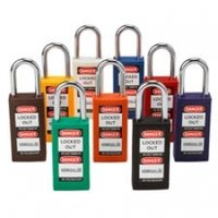 Long Body Safety Padlock Out