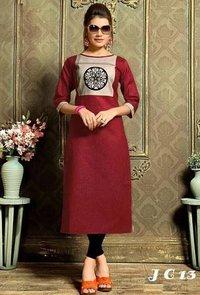 Designer Khadi Cotton Kurti