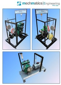 Single Cylinder Petrol Engine Test Rig