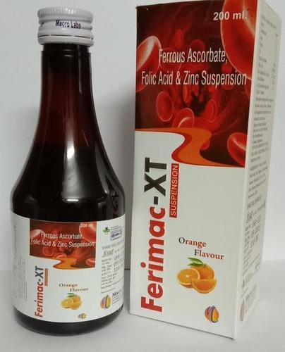 Ferrous Ascorbate 30 Mg  +folic Acid 550 Mg +zinc 22.5 Mg Tab
