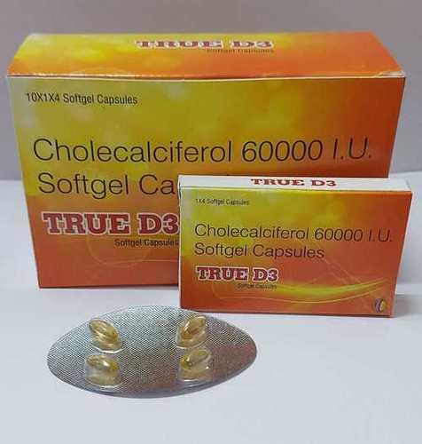 CHOLECALCEFEROL 60000 I.U SOFTGEL