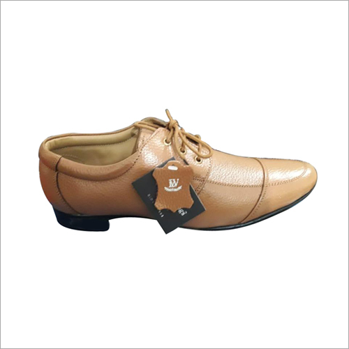 Mens Brown Leather Shoe
