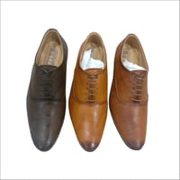Mens Polished Leather Shoes