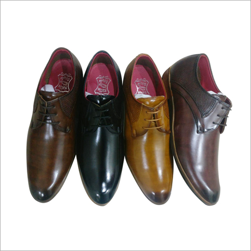 Mens Shiny Leather Shoes