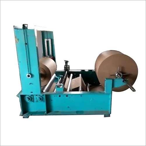 Paper roll rewinding and slitting  Machine