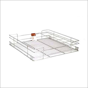 SS Kitchen Glass Basket