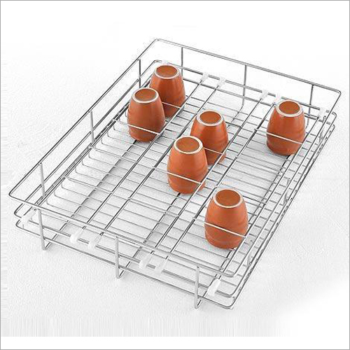 Kitchen Glass Basket