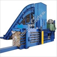 Continuous Hydraulic Scrap Baling Press Machine