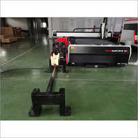 Open Type Fiber Metal Laser Cutting Machine With Attachment