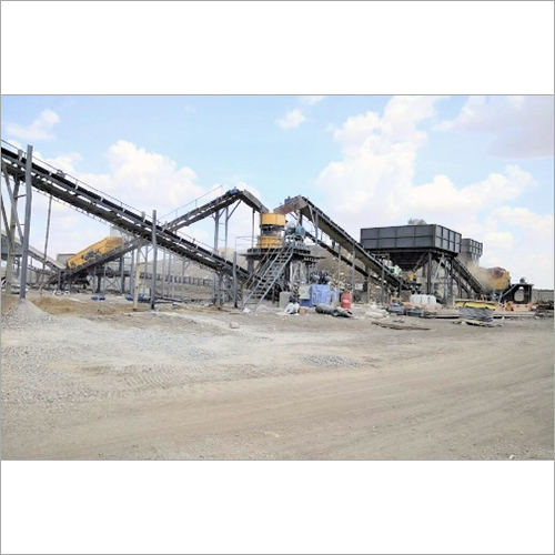 Stationary Stone Crusher Plant
