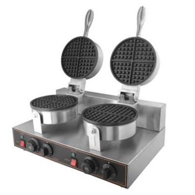 Double Round Waffle Maker