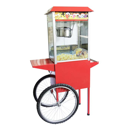 Pop Corn Machine With Cart