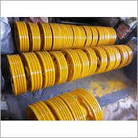 Coated Elevator Diverter Pulley