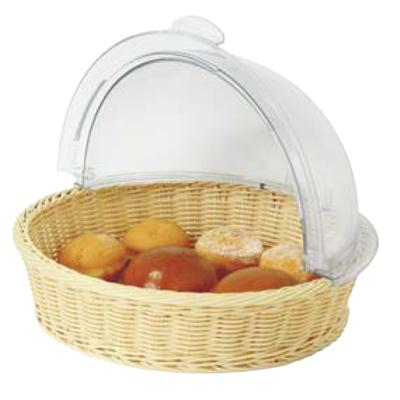 Round Poly Rattan Basket