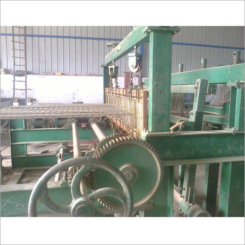 Wire Weaving Loom Machine