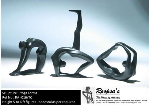 Yoga Forms Sculpture