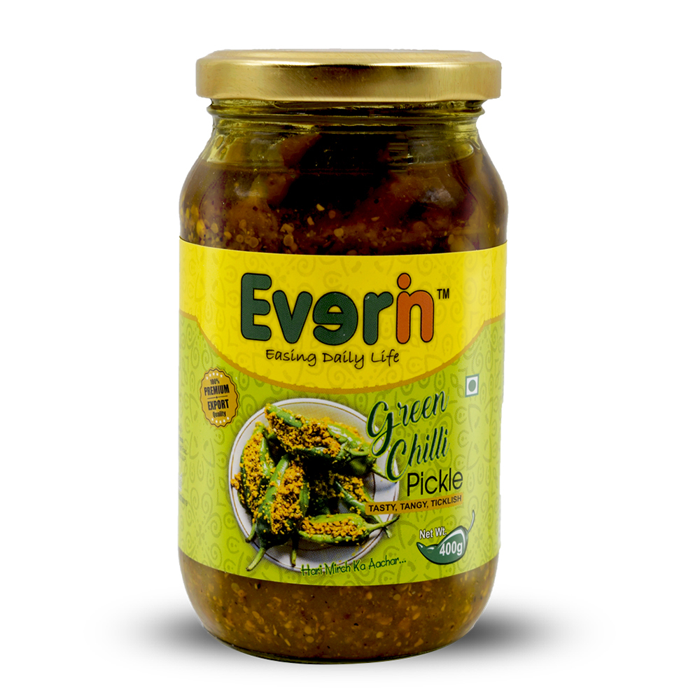 400 Gram Green Chilli pickle
