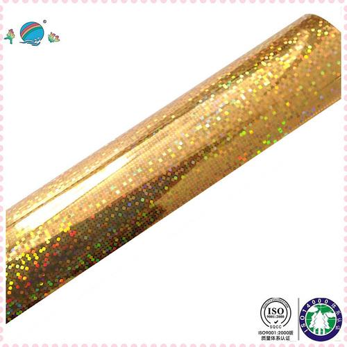 Gold Laser Hot Stamping Foil Application: Paper