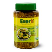 500 Gram Green Chilli Pickle